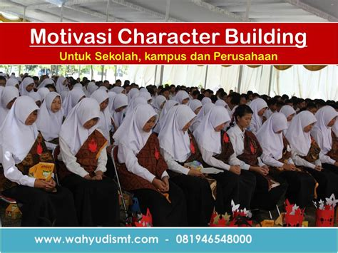 motivasi charater building outbounid character building