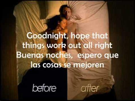 Maroon 5 Goodnight Goodnight Subtitulado Español Youtube