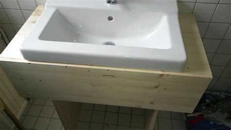 bathroom cabinet with sink simple diy wooden sink cabinet