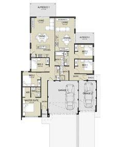 dual key duplex house plans images