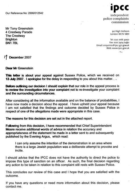 world   complaint  sussex police upheld
