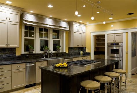interior design of kitchen room kitchen recessed interior design lighting solutions in