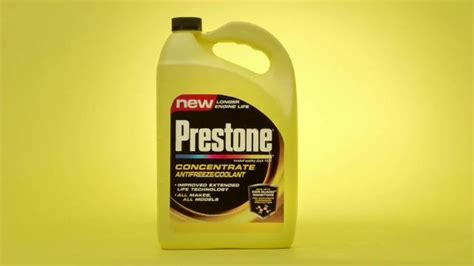 Prestone Concentrate Anitfreeze/coolant Tv Commercial