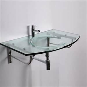 Vasque En Verre : vasques en verre ~ Premium-room.com Idées de Décoration