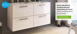 meuble salle de bains idees solutions et produits With meuble de salle de bain à composer