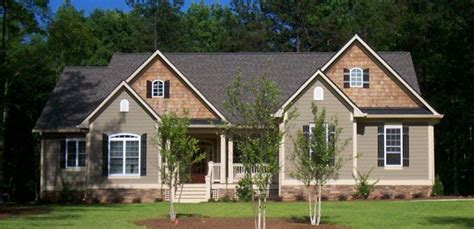 front exterior   satchwell house plan number  modern bungalow house craftsman