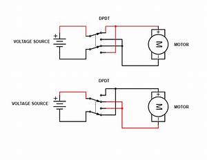 Polarity Reversal Using A Dpdt Switch