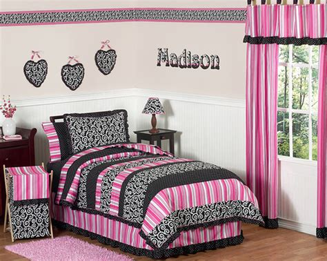 black pink and white bedroom black white and pink bedroom ideas home trendy 18350 | black white and pink bedroom