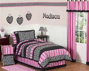 black white and pink bedroom ideas home trendy With black white and pink bedroom