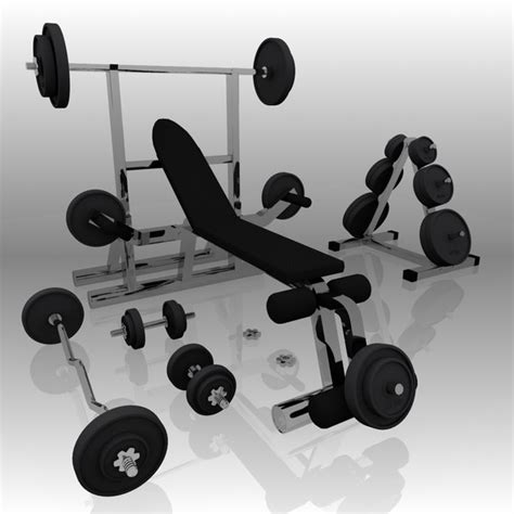 Boat House Boogie Exercise by Workout Bench Modells 3d Realistic Exercise Machine Bench