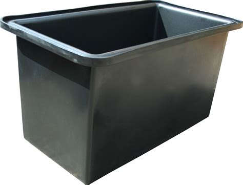 Wasserbecken Kunststoff Eckig by Ecosure Open Top Water Tank 580 Litre Black