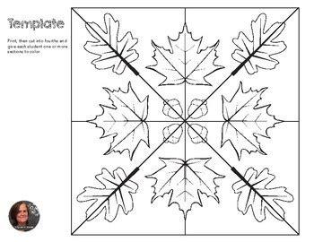 autumn mosaic radial symmetry mosaic fall mosaic