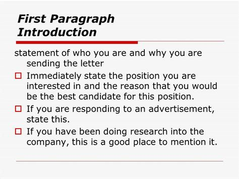 Why Are You The Best Candidate For The by Cover Letters Ppt