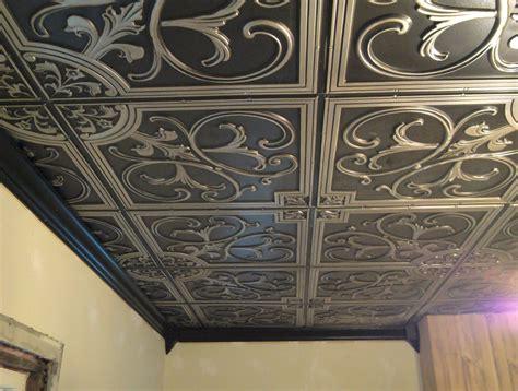faux tin ceiling tiles cheap decorating ideas