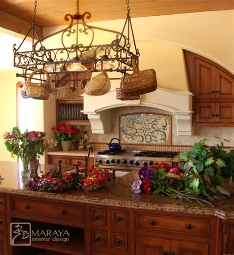 tuscan hood farmhouse kitchen santa barbara