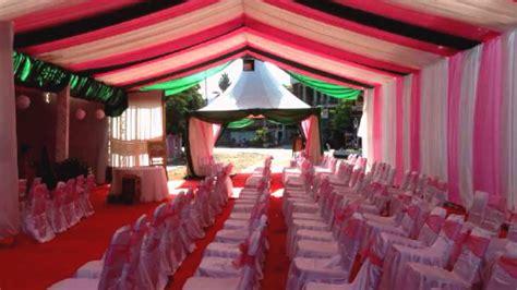 tenda resepsi pernikahan  konsep pernikahan