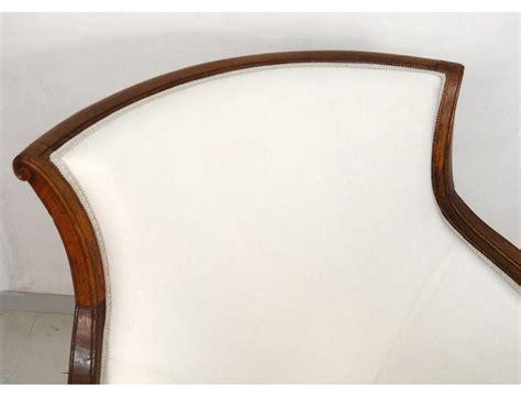 chaise de bateau superbe duchesse en bateau chaise longue merisier