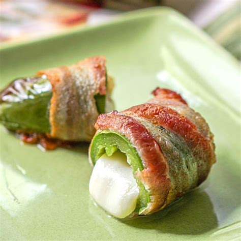 air fryer bacon keto poppers wrapped recipes healthy jalapeno jalapenos healthyaperture
