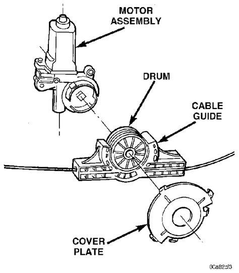 How Replace The Left Door Power Window Motor For