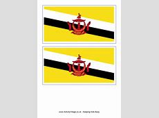Brunei Flag Printable