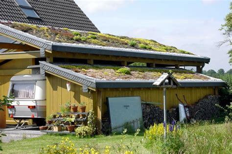 Dachbegrünung Carport, Neunkirchen (2000) Bedachungen