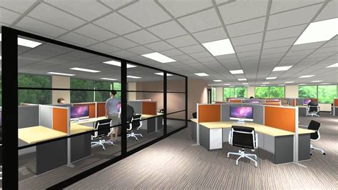 bricorama siege social 3d design bureau interior rendering 100 images 2a