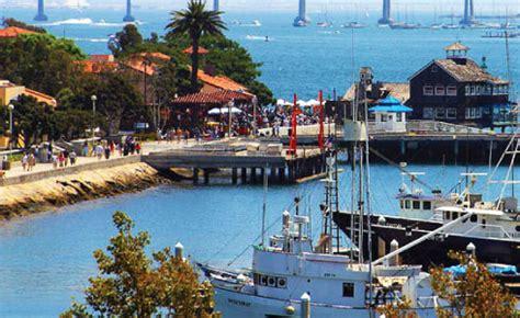 San Diego Seaport Village Jolla California Visitor