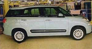 Fiat 500 Longueur : fiat premi re photo de la 500l rallong e blog automobile ~ Medecine-chirurgie-esthetiques.com Avis de Voitures