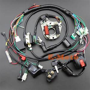 Full Electrics Wiring Harness Cdi Coil Kill Switch C7hsa