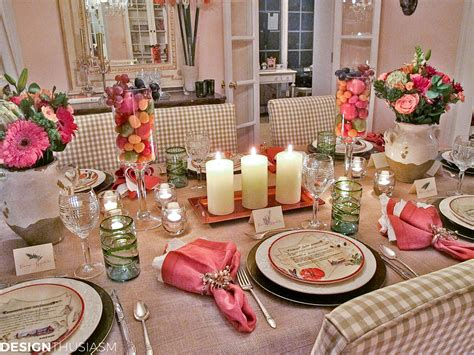 Italian Decorations For Home: Simple Tuscan Tablescape Ideas For An Italian Themed Party