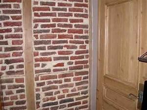 Mur En Brique Intérieur : restaurer un mur int rieur en brique forum ma onnerie fa ades syst me d ~ Melissatoandfro.com Idées de Décoration