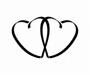 Black And White Heart Clip Art - Cliparts.co