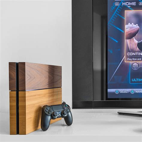Genuine Wooden Cover For Your Playstation 4 Direkt Concept