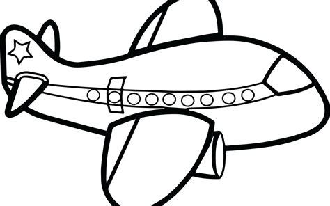aeroplane drawing  kids  getdrawingscom