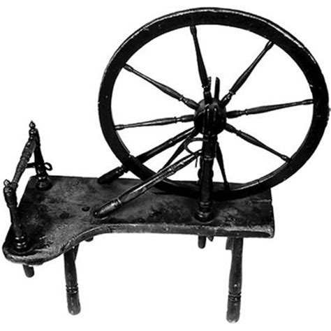 spinning wheel definition   material textiles