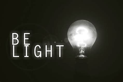 be our light your light must shine give god the