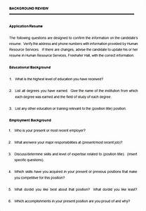 10  Free Sample Hr Questionnaire Templates