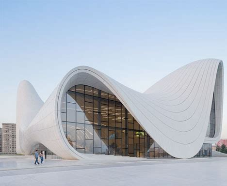 Flowing Forms Curved New Cultural Center By Zaha Hadid