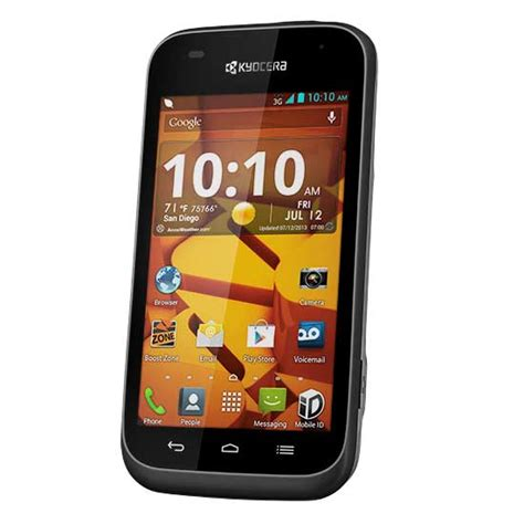 cheap boost phones kyocera hydro edge used phone for boost mobile cheap phones