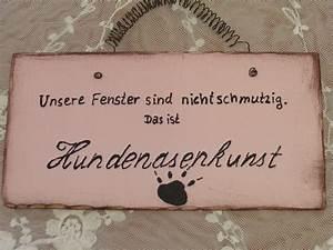Sprüche Auf Holz : holz schild spruch hundenasenkunst rosa shabby galerissimo ~ Orissabook.com Haus und Dekorationen