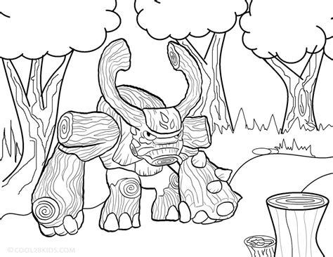 printable skylander giants coloring pages  kids