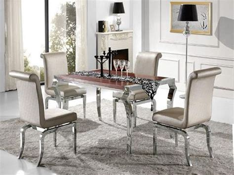 mirrored dining table set mirror dining table set