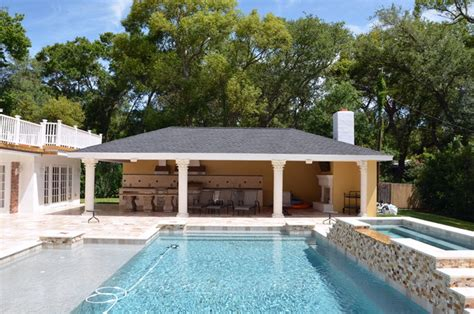 pool and outdoor kitchen designs outdoor living contemporary pool ta by premier 7523