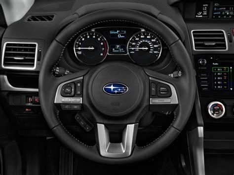 subaru forester steering wheel image 2017 subaru forester 2 5i limited cvt steering