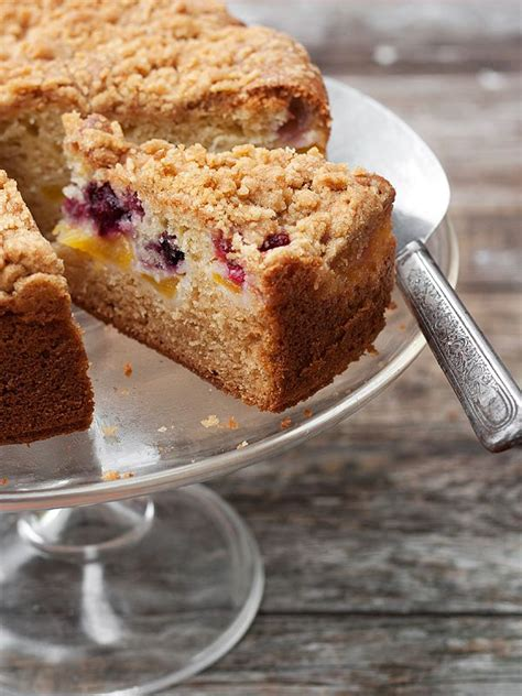 If you've piped the cake beautifully and. Peach and Berry Streusel Coffee Cake   Recipe   Frozen fruit, The floor and Frozen