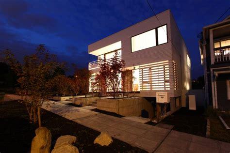 white cube house design  workshop architecture