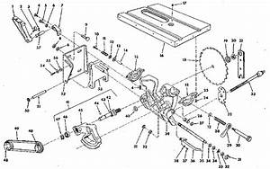 Craftsman Table Saw Figure 3 Parts