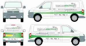 van sign writing wirral electrician mercury electrical With van sign writing templates