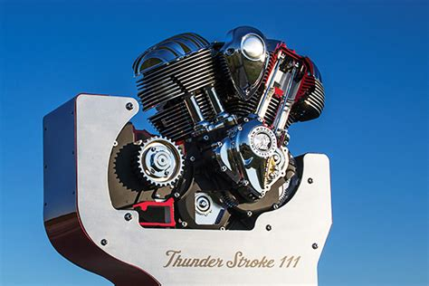 Indian Motorcycles Unveils Thunder Stroke 111 V-twin Engine