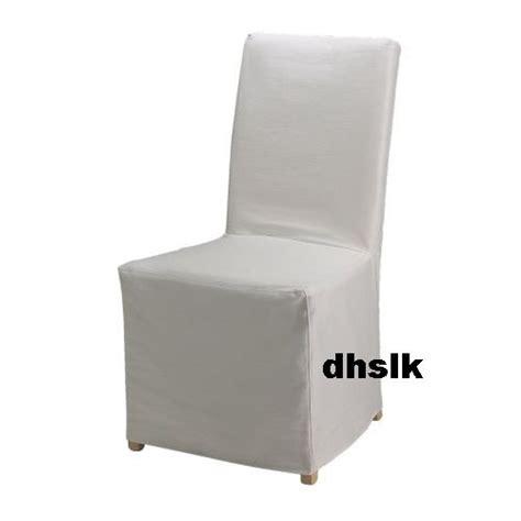 Ikea Henriksdal Chair Covers Uk by Ikea Henriksdal Chair Slipcover Cover Blekinge White Skirted